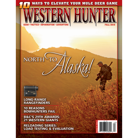 Western Hunter Magazine Fall 2016