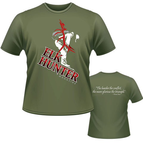 Green Elk Hunter T-Shirt