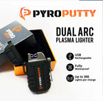 Pyro Putty Dual Arc Plasma Waterproof Lighter