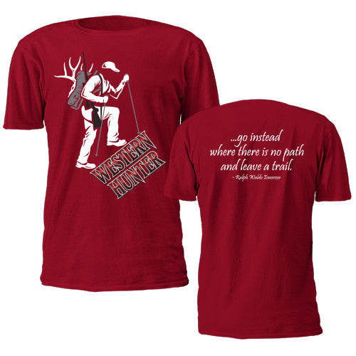 Red Western Hunter T-Shirt