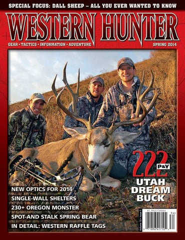 Western Hunter Magazine Spring 2014