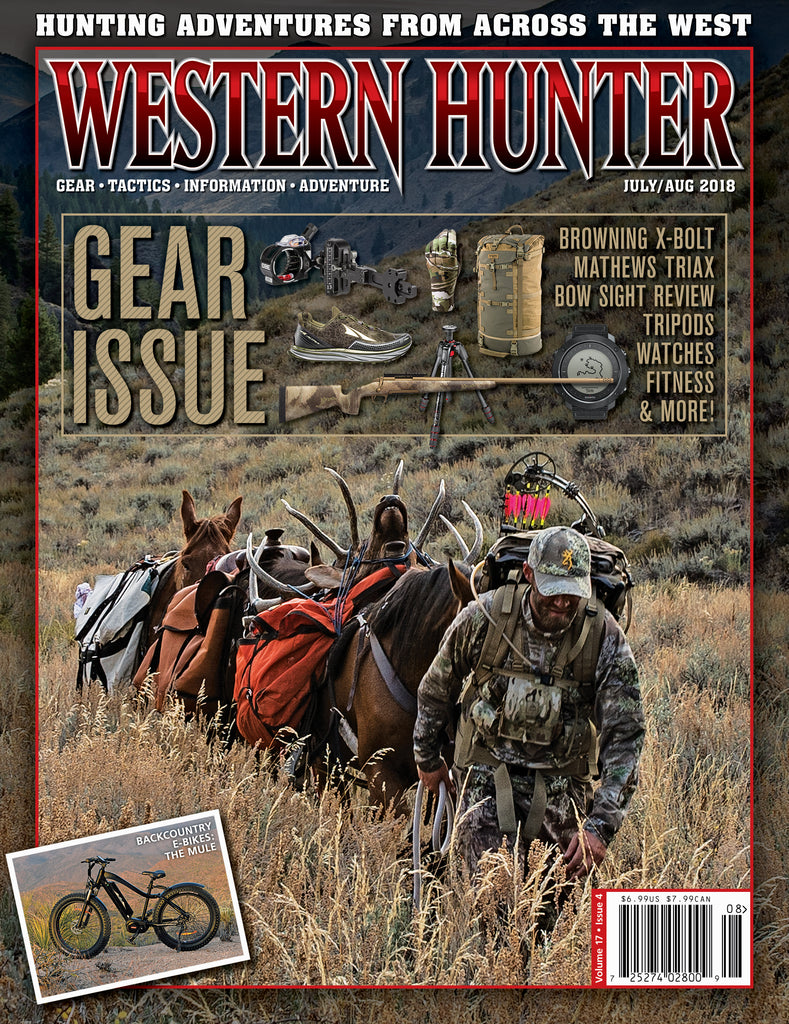 Western Hunter Magazine July/August 2018