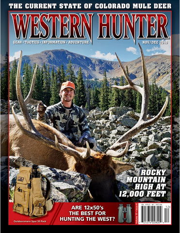 Western Hunter Magazine November/December 2018