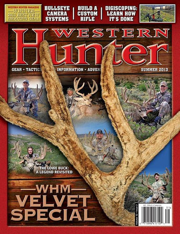 Western Hunter Magazine Summer 2013