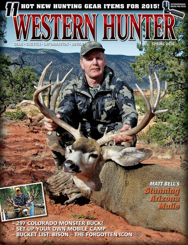 Western Hunter Magazine Spring 2015