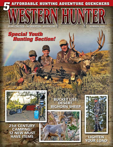 Western Hunter Summer 2015