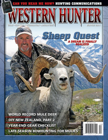 Western Hunter Magazine Winter 2014