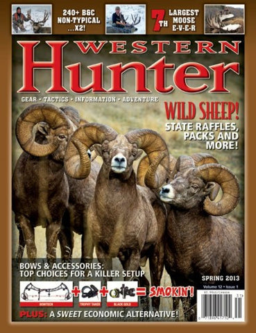 Western Hunter Magazine Spring 2013