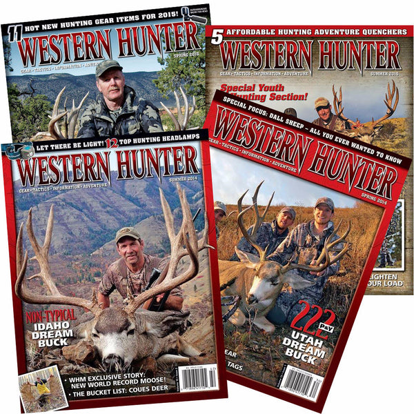 Western Hunter Magazine Renewal