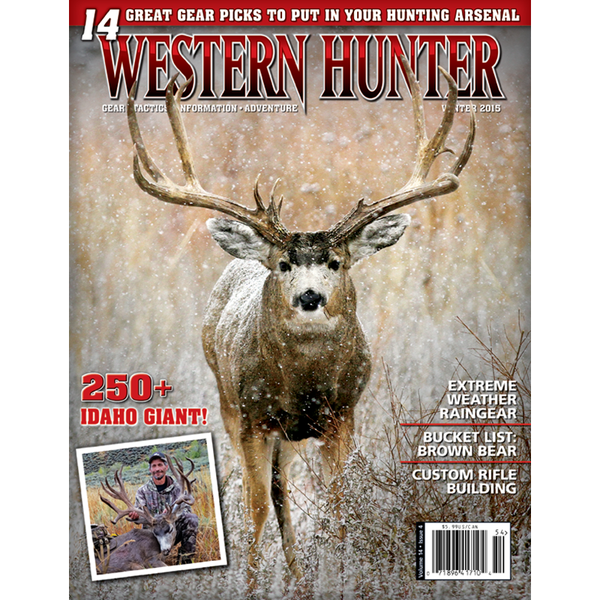 Western Hunter Magazine Winter 2015