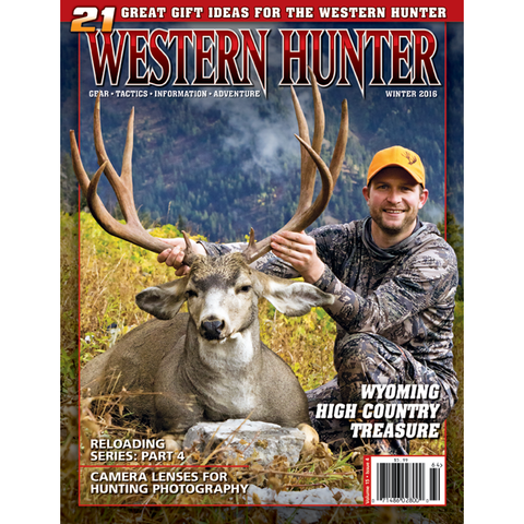 Western Hunter Magazine Winter 2016