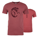 Men's Big Horn T-shirt-Red