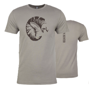 Men's Big Horn Tshirt Gray