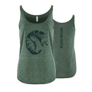 Ladies Western Hunter Sheep Tank