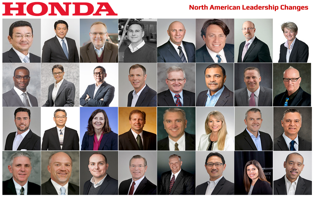 Honda North America Leadership