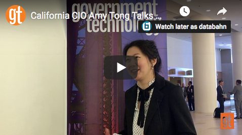 CIO Amy Tong Offers Advice to New State CIOs (video)