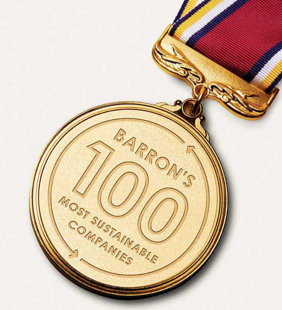 Barron's 100 Most Sustainable U.S. Companies