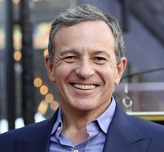 Bob Iger Steps Down from Disney