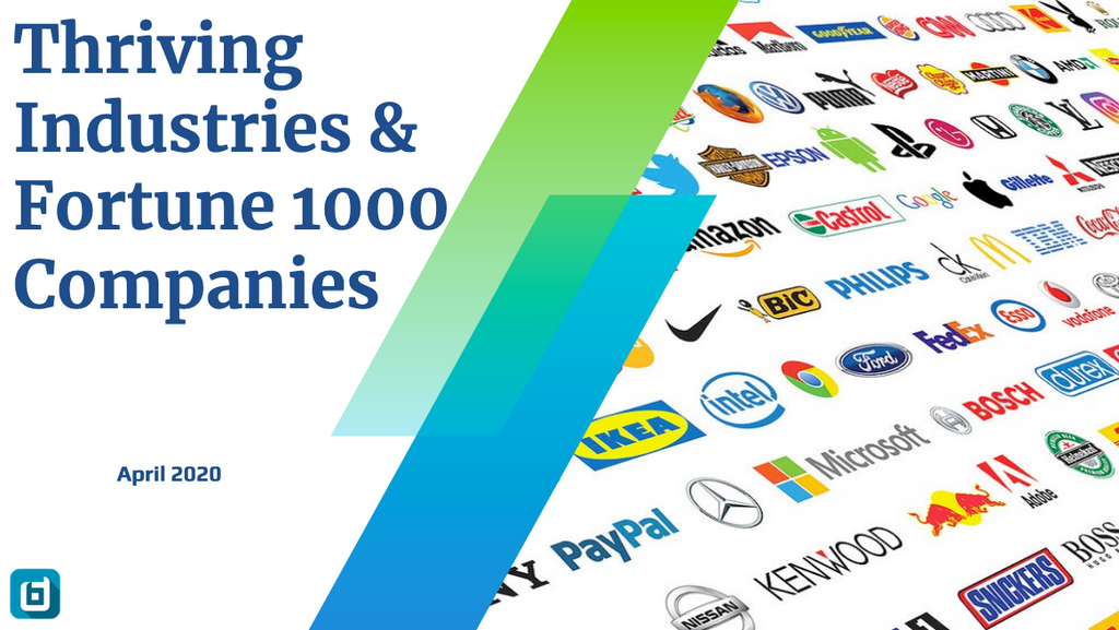 Thriving Industries & Fortune 1000 Companies