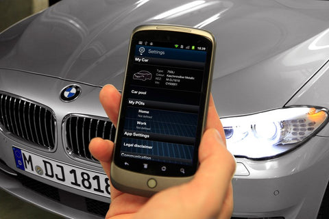 BMW IBM Connected Car Services