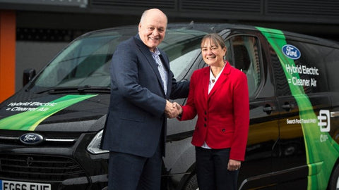 Ford CEO Jim Hackett opens Smart Mobility Office in London