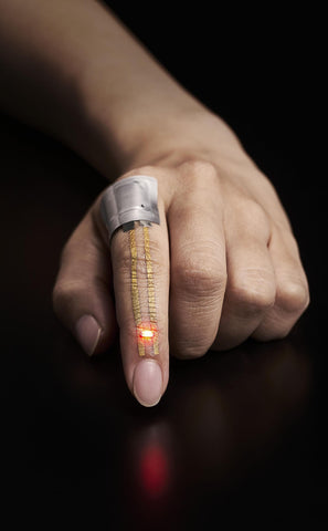 Breathable, wearable electronics on skin for long-term health monitoring iot