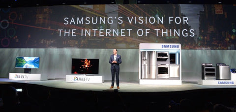 samsung iot internet of things business revenue