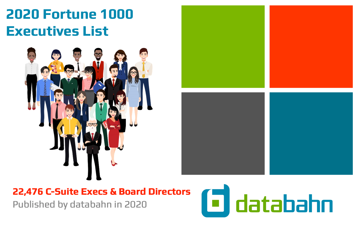 2020 Fortune 1000 Executive Contact List
