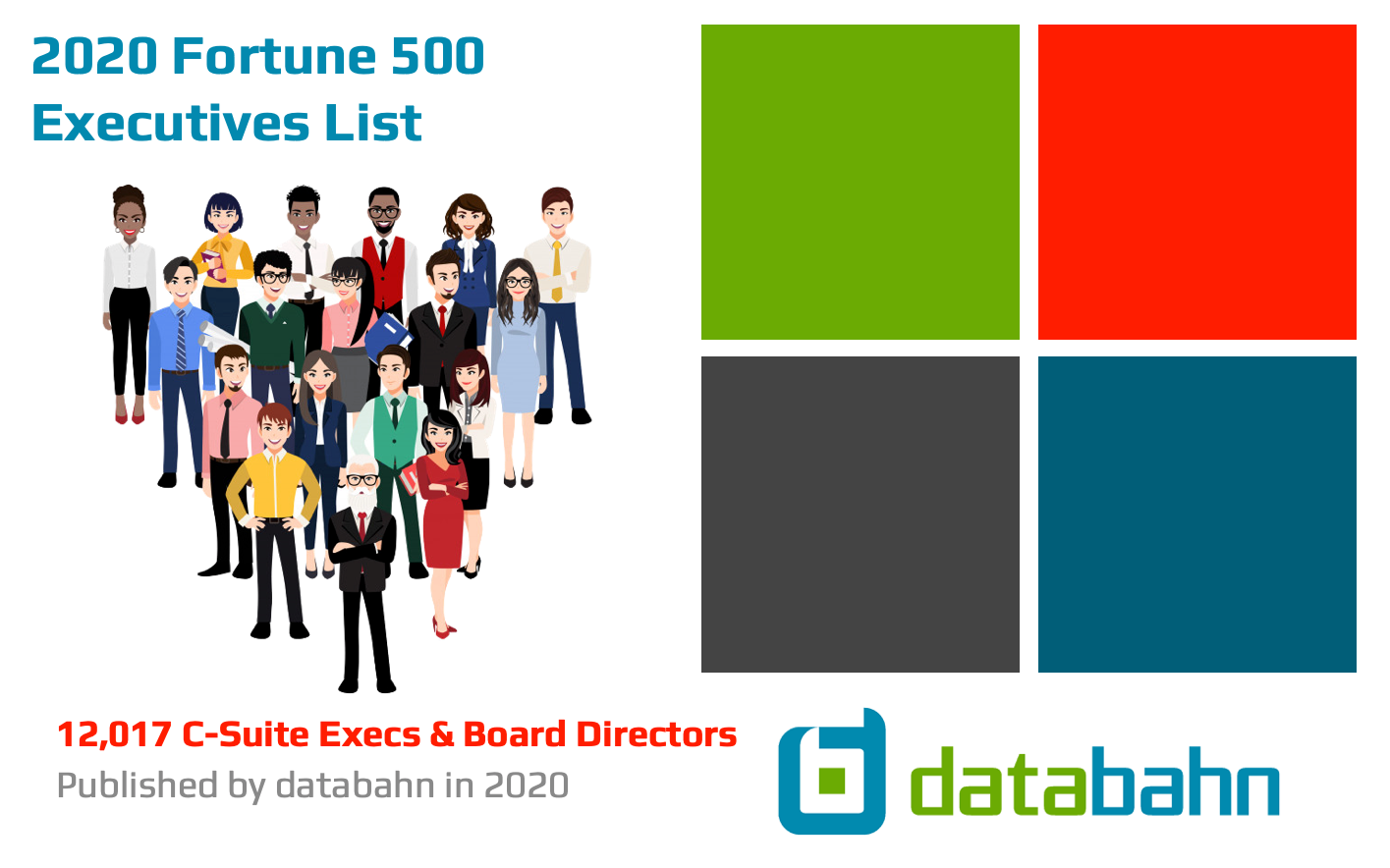 Fortune 500 Executive List Cover Page Image