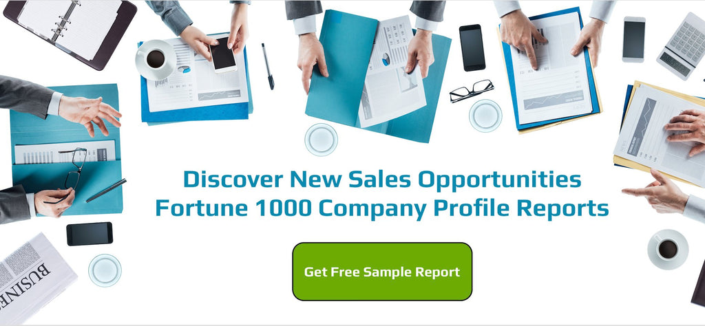 Fortune 1000 sales opportunities