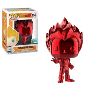 SDCC Pop! Super Saiyan Vegeta (Red Chrome)
