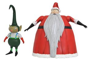 Nightmare Before Christmas Select Santa Claus Action Figure