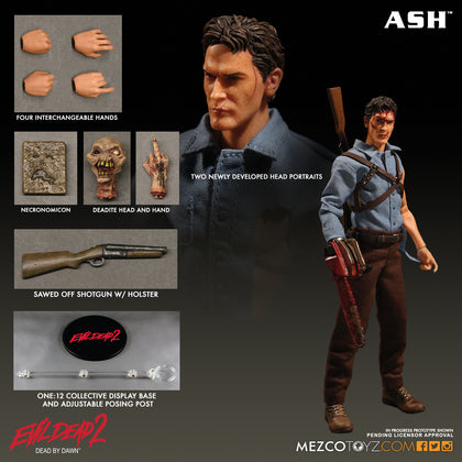 One:12 Collective Figures - Evil Dead 2 -Ash