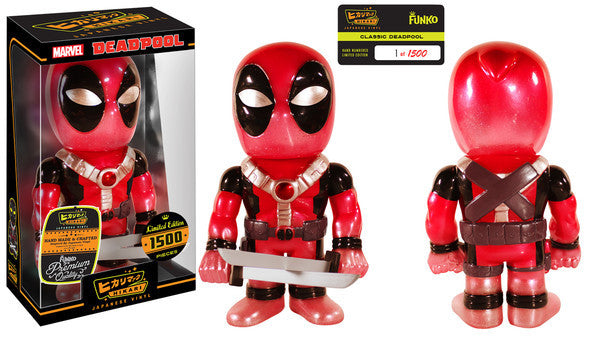 Hikari Vinyl Limited Edition Classic DeadPool 1 of 1500