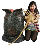 Life size alien egg replica with face hugger