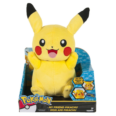 "Pokemon My Friend Pikachu 10"" Talking Plush"