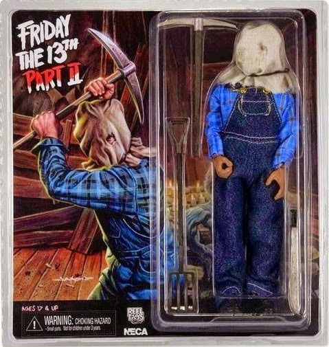 Neca 8 Quot Clothed Figure Friday The 13th Part 2 Jason