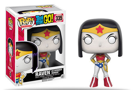 Pop! TV: Teen Titans Go! -  Raven as Wonder Woman