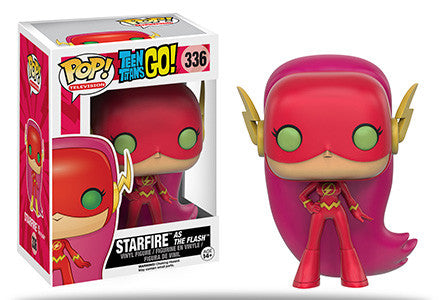 Pop TV: Teen Titans Go! - Starfire as The Flash