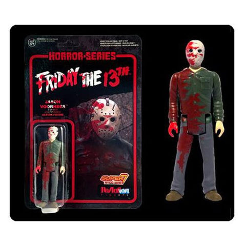 NYCC Exclusive Jason Voorhees Blood Splattered ReAction Figure