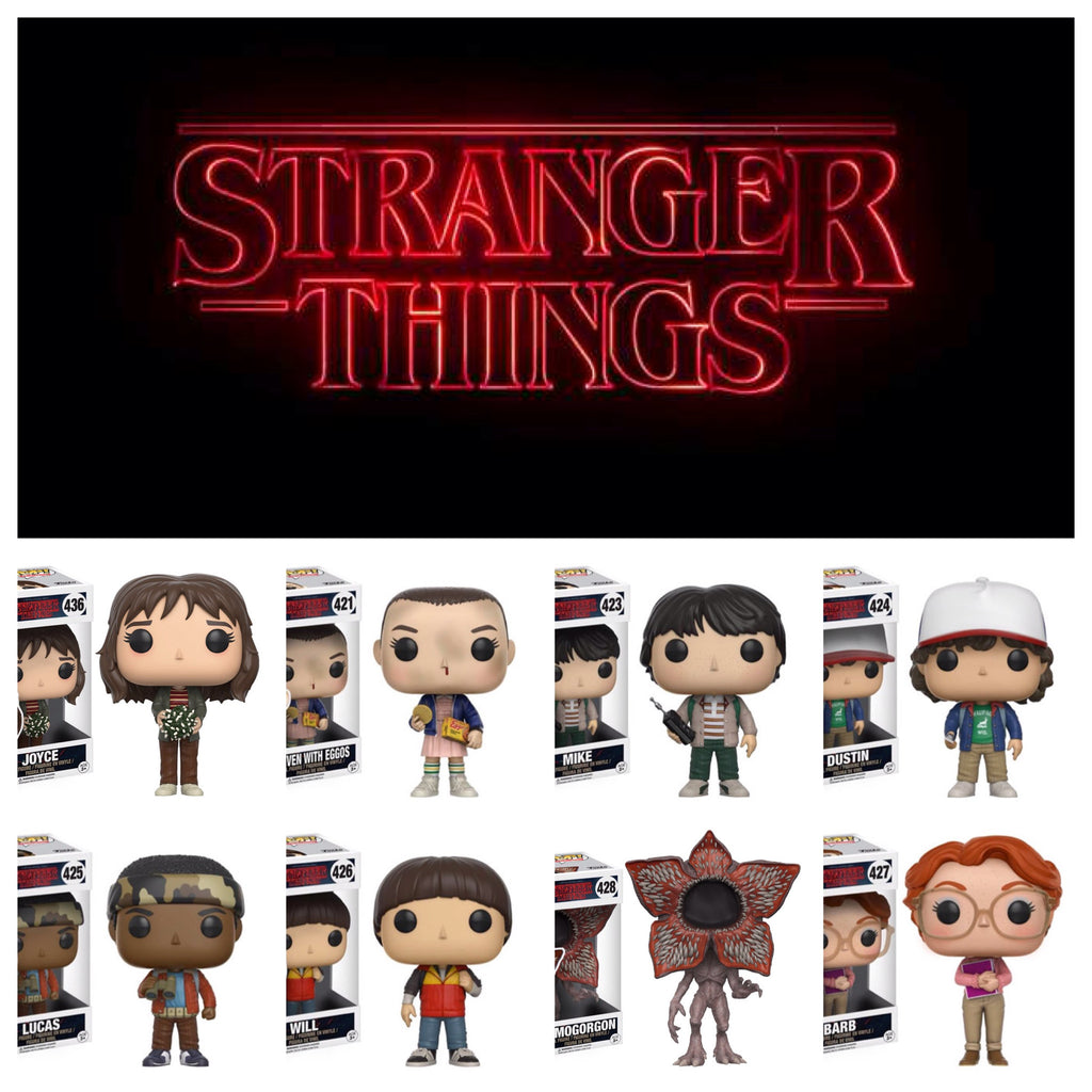 Pop! TV: Stranger Things  Set of 8