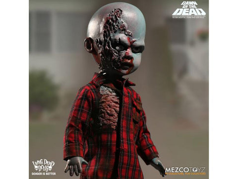 Living Dead Doll Dawn of the Dead Plaid Shirt Zombie