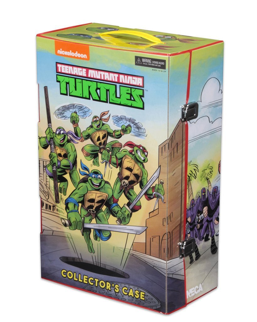 SDCC 2017 EXCLUSIVE TMNT - 30TH ANNIVERSARY CARTOON ACTION FIGURE BOX SE