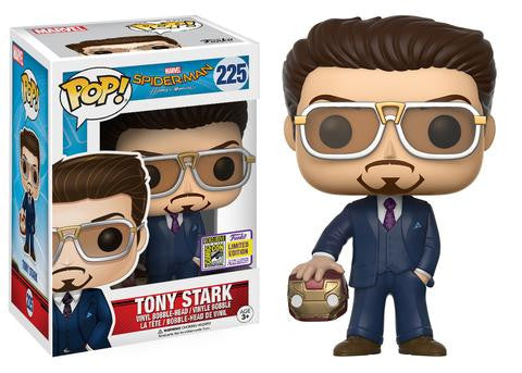 SDCC Exclusive Pop! Marvel: Spider-Man Homecoming – Tony Stark (holding helmet)
