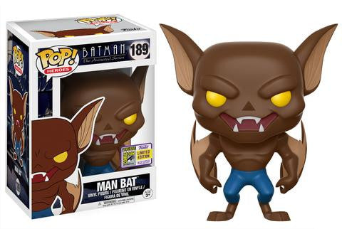 SDCC Exclusive Pop! Heroes: Batman The Animated Series – Man Bat
