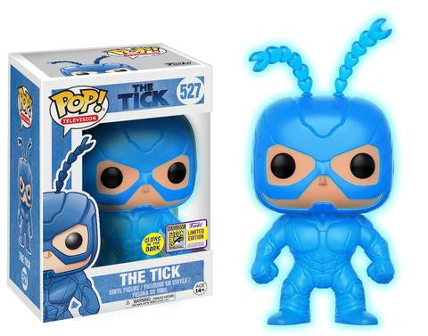 SDCC Exclusive Pop! Television: The Tick –The Tick (Glow-in-the-Dark)