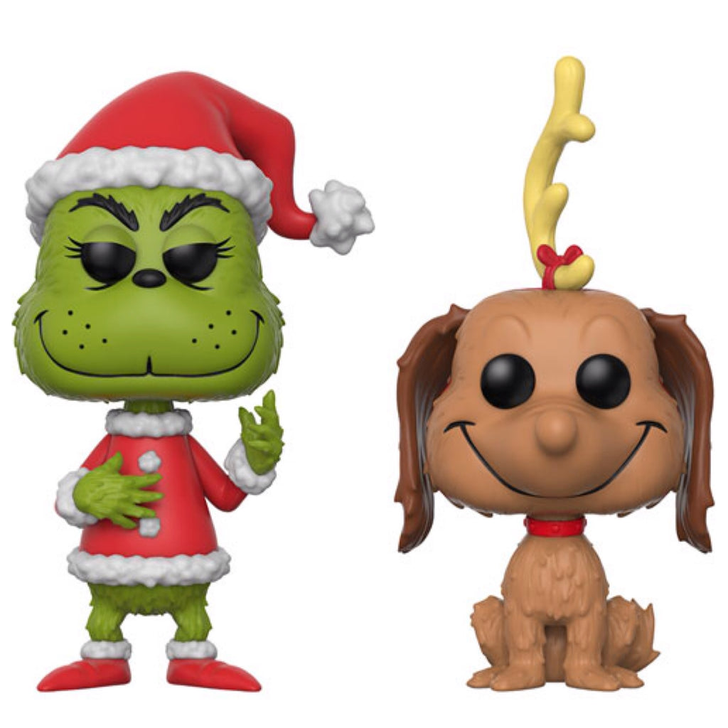 Pop! Books: Dr. Seuss - The Grinch (Santa) and Max