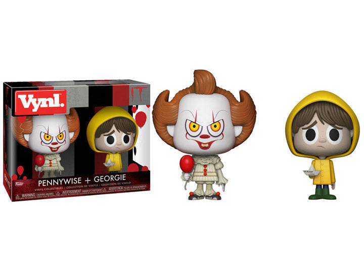 It Pennywise and Georgie 2 pack Vynl.