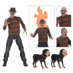 "Nightmare On Elm Street 7"" Scale Figures - Ultimate Part 02 Freddy"