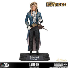 "McFarlane Color Top Series Figures - Labyrinth - 7"" Jareth The Goblin King"